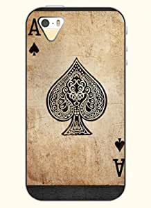OOFIT Phone Case design with Poker -A for Apple iPhone 5 5s 5g