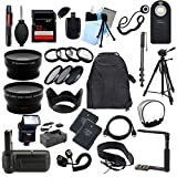All You Need Accessory Kit for the Nikon D3200 Digital SLR Camera