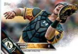 2016 Topps Team Edition #OA-8 Stephen Vogt Oakland Athletics Baseball Card in Protective Screwdown Display Case