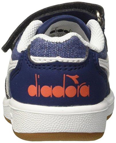 Diadora Playground CV TD, Zapatillas de Gimnasia Para Niños Azul (Blu Estate)