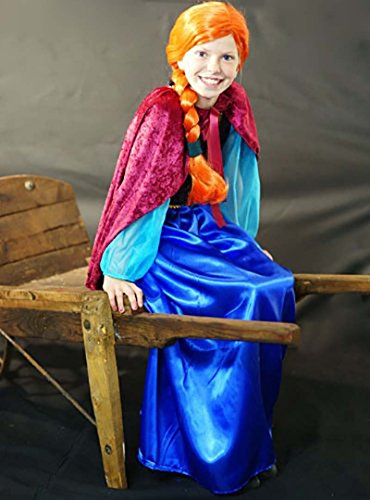 CL COSTUMES Dance-Panto-Stage-Disney-Frozen Princess Anna - All Ages (Teen) -