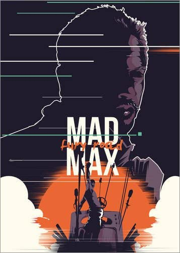 Posterlounge Cuadro de metacrilato 50 x 70 cm: Mad MAX: Fury Road de Fourteenlab: Fourteenlab: Amazon.es: Hogar