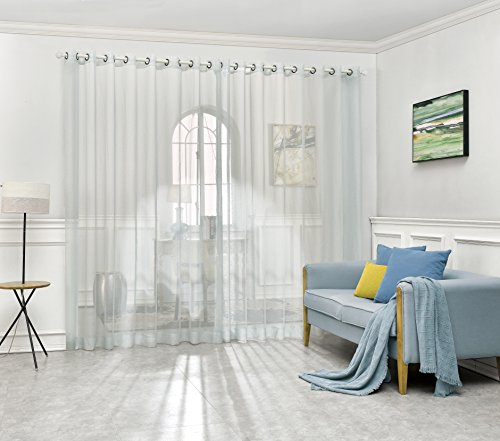 extra wide grommet curtains - 2