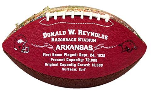 Jarden Sports Licensing NCAA Arkansas Razorbacks Stadium Football, Full Size, (Arkansas Razorbacks Football Stadium)