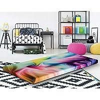 Groove Tie Dye Roll Up Memory Foam Guest Bed Mattress, 3 Twin