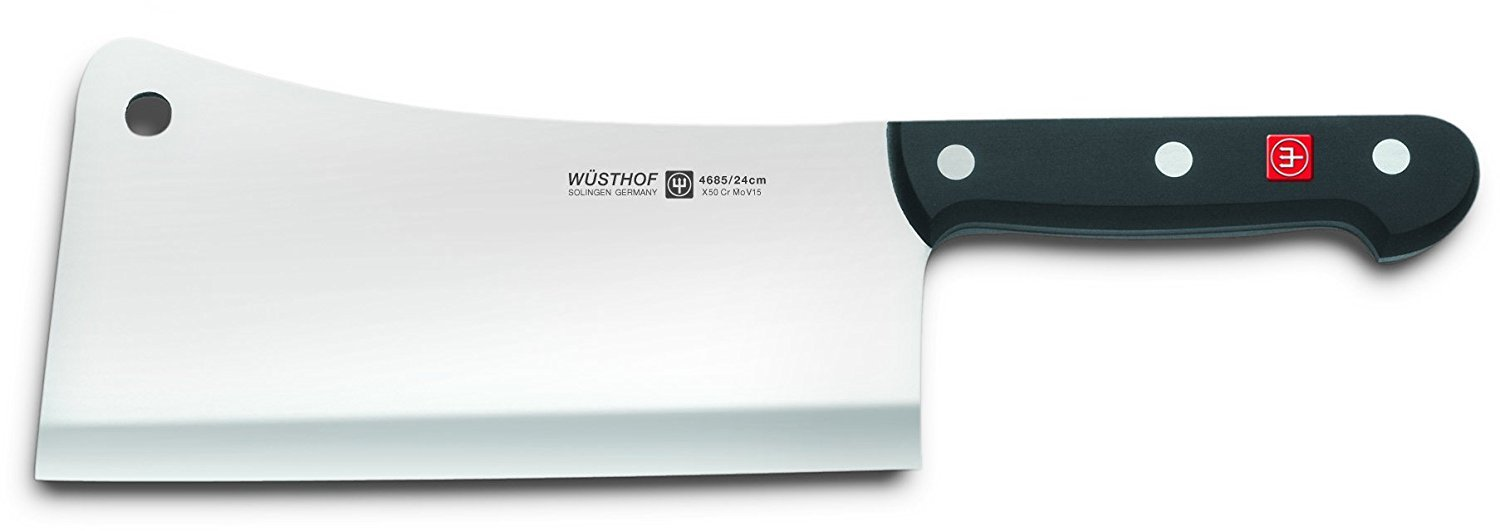 Wusthof Knives Classic Cleaver - 4685 / 24 cm (9'') Weight 1100 gr.