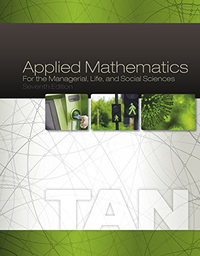 Download Applied Mathematics for the Managerial, Life, and Social Sciences Pdf