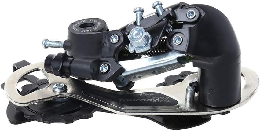 Kcnsieou Desviador trasero de alta intensidad para bicicleta TX35 cambio de velocidad profesional 6//7//8 transmisi/ón de velocidad MTB suministros de bicicleta de monta/ña