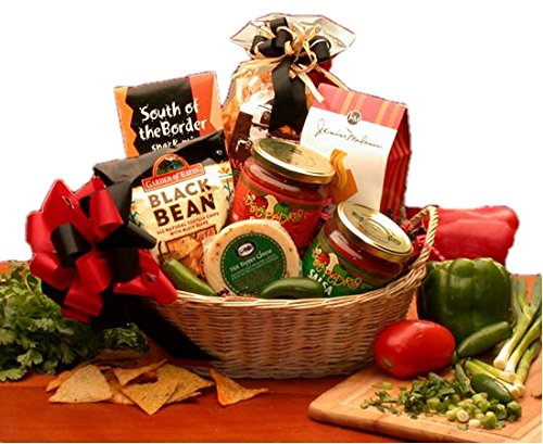 South of the Border Mexican Snack Gift Basket by Organic Stores (Image #1)