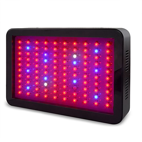 Amats LED Grow Light 300W, Full Spectrum UV IR Lighting Bulbs for Indoor Plant Hydroponics Veg Flower. by Amats