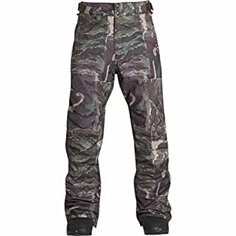 BILLABONG Men's Lowdown Snowbard Pant, Camo, M