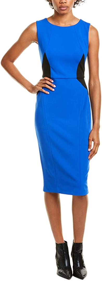 Maggy London Women's Solid Scuba Limited time cheap sale Popular shop is the lowest price challenge Crepe Sheath Textured