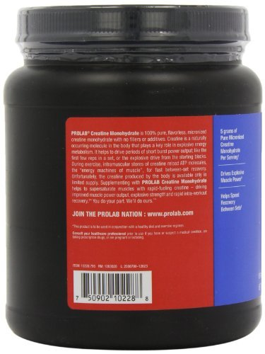 Prolab Creatine Monohydrate Powder (1000g) 2.2 lbs (Pack of 3) by ProLab (Image #6)