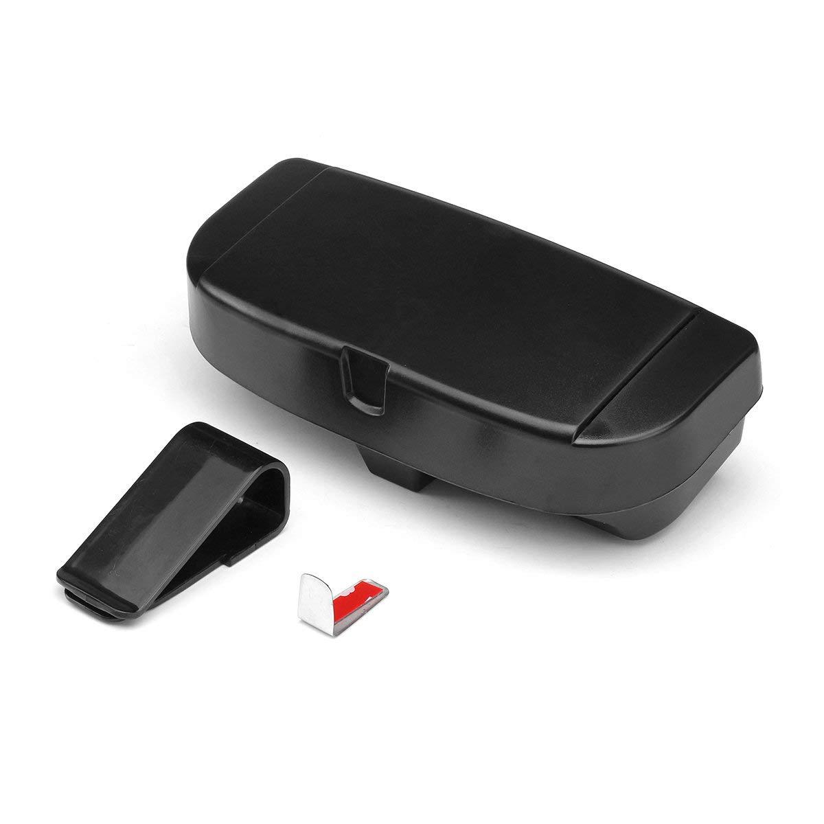 Shield Won Favorable Universal Large Capacity Sun Visor Accessory Storage Box Card Slot Phone Holder by Shield Won