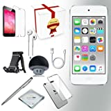 Apple ipod touch 6th generation Music player 128GB – SILVER w iTouch Accessory Kit