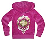 Juicy Couture Girls ''JC'' Monogram T-shirt or Velour Hoodie (Small 4-5, Pink Hoodie)