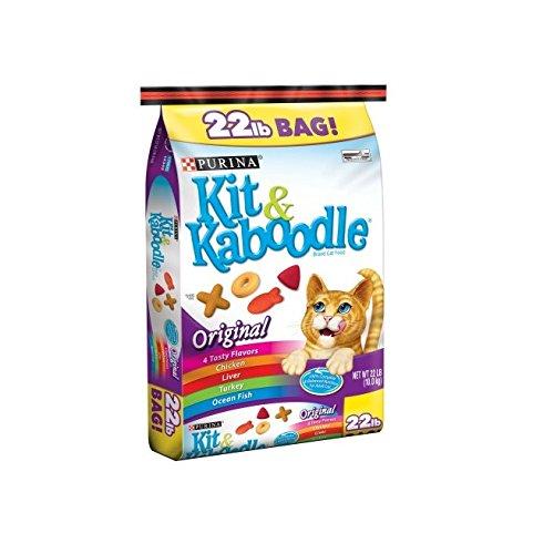 Purina Kit and Kaboodle Dry Cat Food, Original, 22 Lb Bag...
