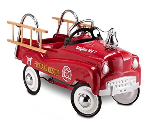 Fire Truck Riding Pedal Car (InStep Fire Truck Pedal Car)