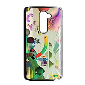 Attractive Creative Cartoon Pattern Hot Seller High Quality Case Cove For LG G2