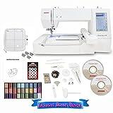 Janome Memory Craft 400E Embroidery Machine Exclusive Bonus Bundle (Small Image)