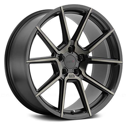 19x10.0 TSW CHRONO Wheel 25mm 5x114.3 MT - Matte MATT BLACK ()