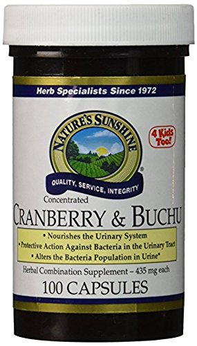 NSP Cranberry & Buchu Concentrate Capsules, 100 Count