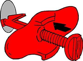 drain sealer Turboproducts Big Master Plunger sink and waste pipe unblocker 150mm /Ø lemon