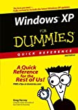 Windows XP for Dummies Quick Reference, Greg Harvey, 0764574647