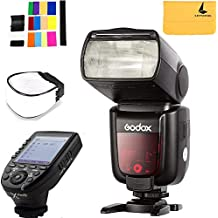 Godox TT685S TTL Camera Flash High Speed 1/8000s GN60 Compatibe Sony Cameras,Godox XPro-S 2.4G TTL Wireless Flash Trigger Wireless X System High-Speed with Big LCD Screen Transmitter Compatible Sony