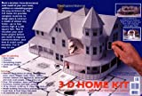 img - for 3-D Home Kit: All You Need to Construct a Model of Your Own Home or Addition book / textbook / text book
