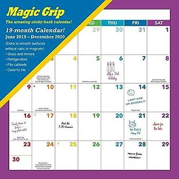 2020 Rainbow Magic Grip Wall Calendar, by Calendar Ink