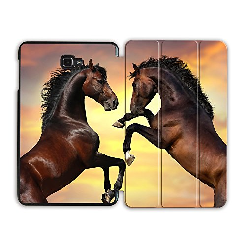 Teke Akhal Horses Horse - MTAOTAO Akhal-teke Horse Case for samsung galaxy tab A 10.1 T580 T585 SM-T580 SM-T585 Magentic Smart tablet cover for galaxy tab A 10.1 2016