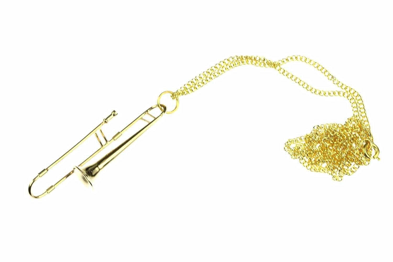 Miniblings Collar de trombón Collar de trombón Trombón ...