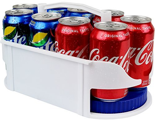 Galashield Soda Can Holder Dispenser and Organizer for Refrigerator and Cabinet KT-9045