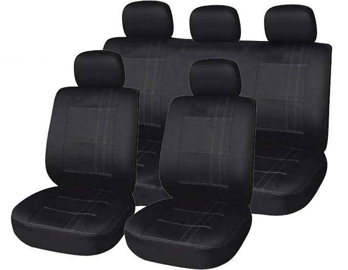2 X CLIP REAR SEAT COVER BACK PROTECTOR WATERPROOF FIAT DOBLO Estate 10+