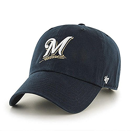 '47 Milwaukee Brewers Clean Up Adjustable Cap (Brewers Clothes Milwaukee)