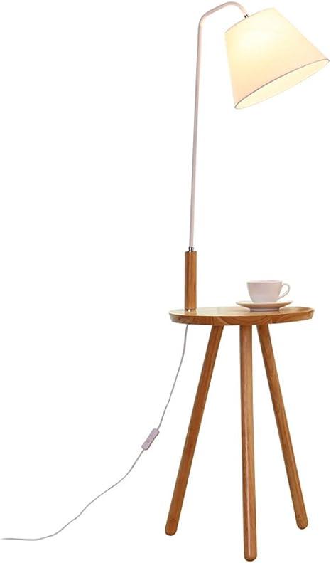 Table Lamp Home Mall Lampada Da Terra In Legno Lampada Piantana Moderna Di Stile Minimalista Con Tavolino Per Sala Studio Camera Da Letto Soggiorno 40x140cm Coloree Bianco Pole Amazon It Illuminazione