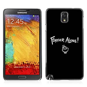 Designer Depo Hard Protection Case for Samsung Galaxy Note 3 N9000 / Forever Alone MEME LOL