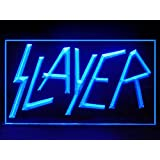 Slayer Beer (Pattern 1) Bar Hub Advertising LED Light Sign J995B