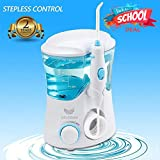 Electric Water Flosser, VIVIDAY 600ml Capacity Professional Water Dental Flosser for Home & Travel - Leak-Proof Electric Quiet Design Oral Irrigator with7 Interchangeable Nozzles for Adults & Kids