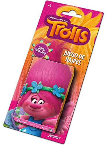 Amazon.com: Trolls – Playing Children (Naipes Heraclio ...