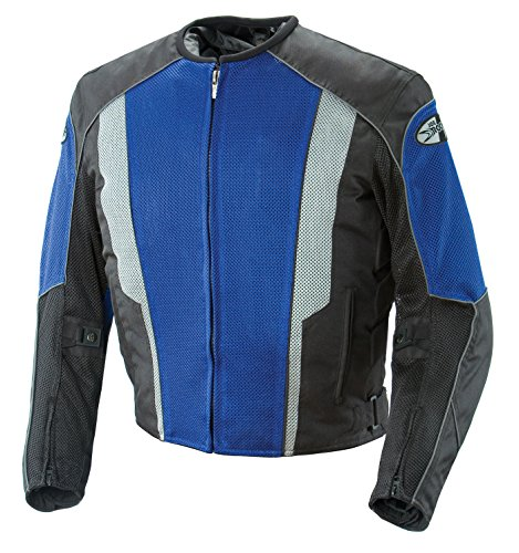 - Joe Rocket Phoenix 5.0 Jacket (X-Large) (Blue)