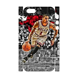 C-EUR Cell phone Protection Cover 3D Case Derrick Rose For Iphone 5,5S