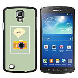 Stuss Case / Funda Carcasa protectora - Amarillo fotógrafo Verde Fotografía - Samsung Galaxy S4 Active i9295
