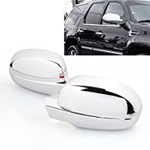 A Pair Chrome Full Mirror Cover Fit For Chevy Silverado/Avalanche 07 08 09 10 11 12 13