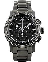 Burberry BU9801 Watch Endurance Mens - Black Dial Stainless Steel Case Quartz Movement