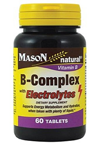 B-Complex with Electrolytes 60 Tablets (2 Pack) Review