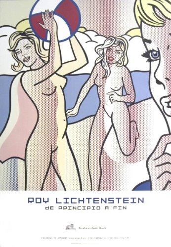 Roy Lichtenstein Lithograph - Roy Lichtenstein - Nudes with Beach Ball Offset Lithograph Edition of 500