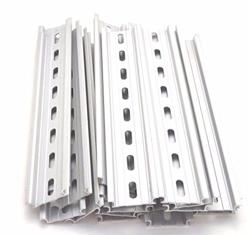 20 Pieces DIN Rail Slotted Aluminum RoHS 8