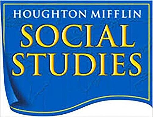 Houghton Mifflin Social Studies: Audio CD-ROM Package Level K U.S. History